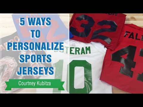 5 Ways to Personalize Sports Jerseys