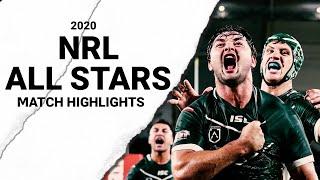 2020 NRL ALL STARS MATCH HIGHLIGHTS