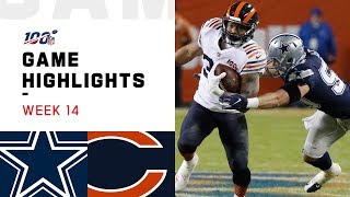Cowboys vs. Bears Week 14 Highlights | NFL 2019