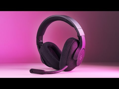 Logitech G433 - A FABRIC Covered Gaming Headset!?