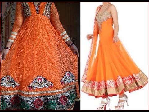 Anarkali suit choli cutting and stitching अनारकली सूट सिलाई करना