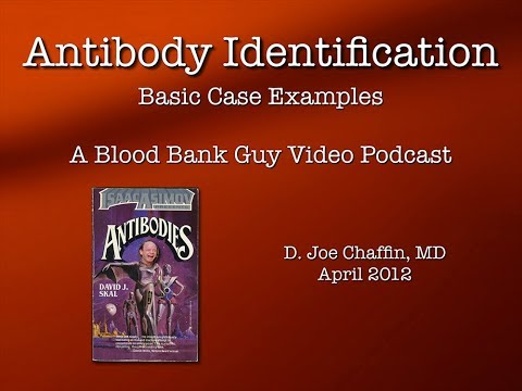 Antibody ID: The Basics (Part 1)