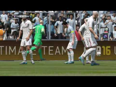 Usa vs Argentina (Fifa 16)