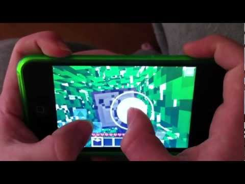 how to make iron in minecraft PE