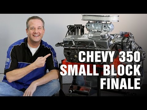 How to build a turbo 350 engine -