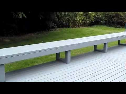 Railings on Deck Bench Inspected By Property Inspector, LLC | (425) 207-3688 | CALL US!