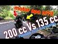 Download Yamaha RXZ 135 kejar motor 200cc  |  200cc Vs 135cc | 4-stroke Vs 2-stroke MP3,3GP,MP4