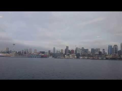 Seattle Skyline from ferry.