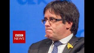 Catalonia: Spain withdraws Puigdemont arrest warrant - BBC News