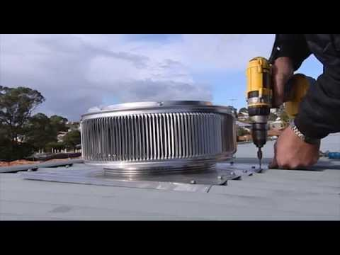 Heat Activated Roof Ventilation