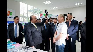 VTV1 - Thủ tướng Nguyễn Xuân Phúc thăm khu công nghệ cao Hòa Lạc