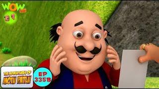 Heeron Ki Pagadi - Motu Patlu in Hindi - 3D Animation Cartoon for Kids -As seen on Nick