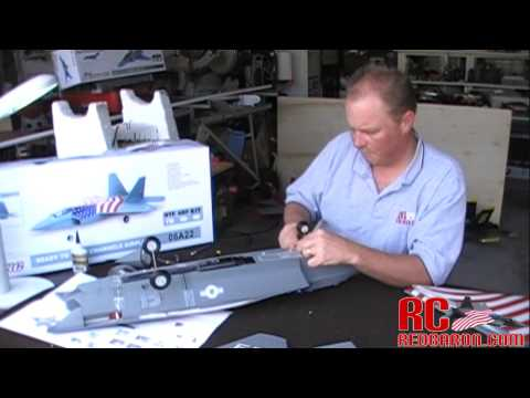 Exceed RC F-22 Raptor 70MM EDF JET - Complete Build Video in HD