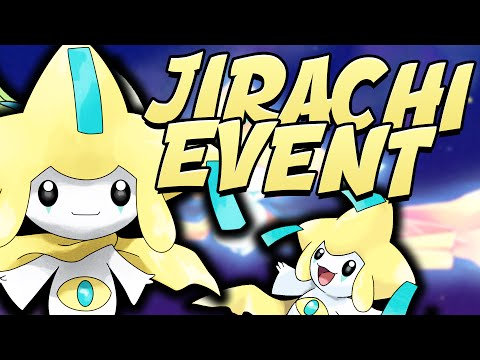 HOW TO GET JIRACHI EVENT IN ORAS AND XY