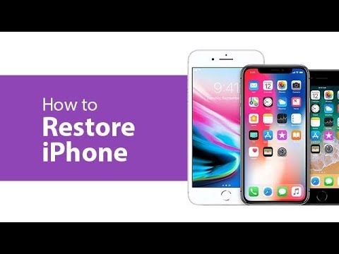 How to Restore iPhone X/8/8 Plus/7/6/5S/5 with iTunes? Step by Step Guide