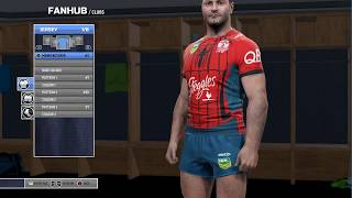 Rugby League Live 4 - Custom Jerseys - Marvel Jerseys!