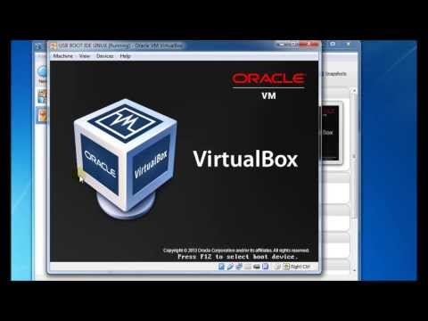 Boot from a USB drive using VirtualBox (new method with full rd/wr access)