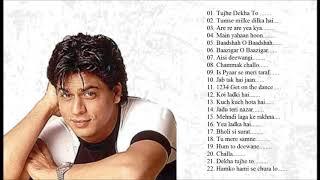 Best of Shah Rukh Khan Bollywood Songs l Hindi Romantic Songs l Romantic Songs l SRK Jukebox l Songs