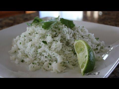 How To Make Cilantro Lime Rice | Cilantro Lime Rice Recipe | Episode 123
