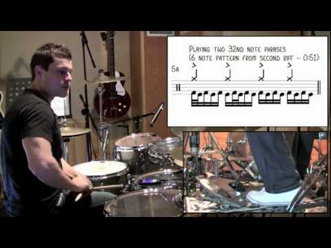 Meshuggah - Bleed (Drum Cover & Lesson) by Troy Wright
