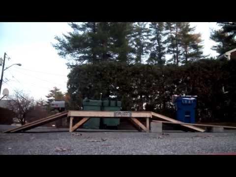 wooden jump tricks bmx