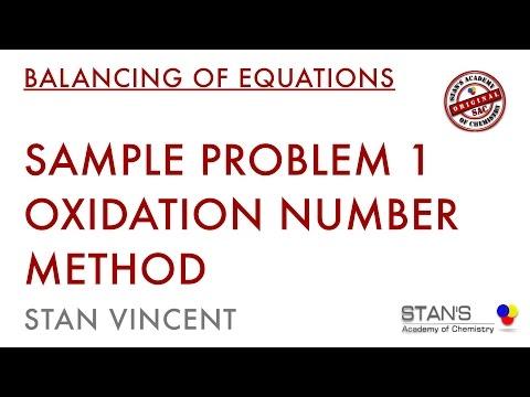 Redox Balancing | Oxidation Number Method