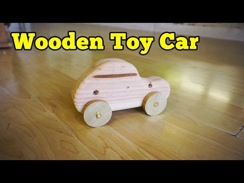 Wood Toy Car | Barb Makes Things #9