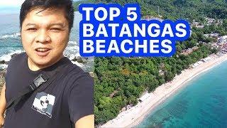 TOP 5 BATANGAS BEACHES IN 1 WEEKEND | Travel Goal #7