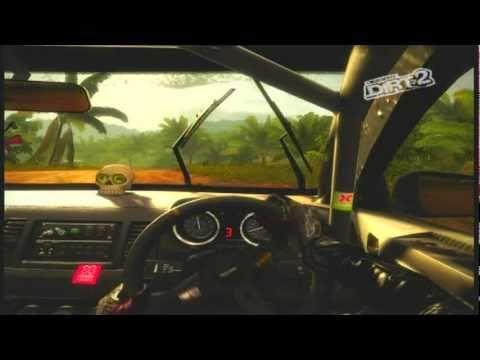 Dirt 2 full rally tour part 3 Malaysia using xbox 360 steering wheel (Savage)