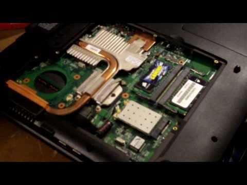Laptop GPU Repair Guide (Turns on, Black Screen, nVidia) Everex XT5300T XT5000T Fujitsu Amilo