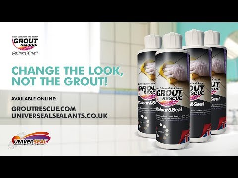 Grout Recolouring & Sealing - Grout Rescue by Universeal Sealants