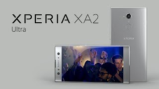 Xperia XA2 Ultra – The dual selfie camera – great shots all the time