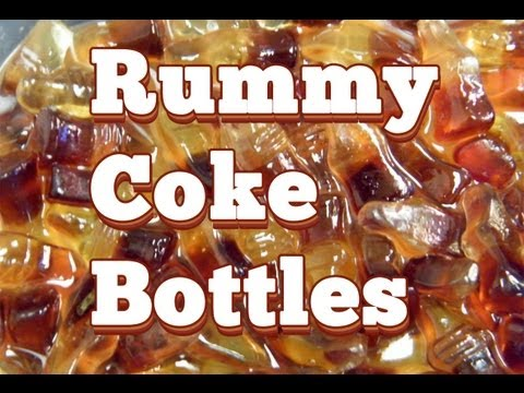 Rum Soaked Gummy Cola Bottles - TheFNDC.com