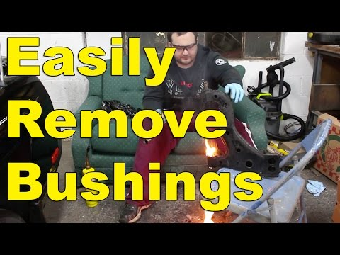 Control Arm / Subframe Bushing removal 1JZGTE MKIII Supra