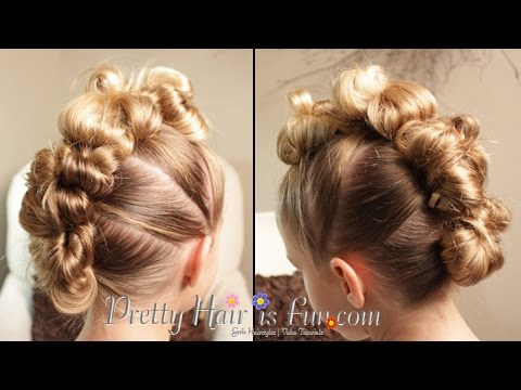 THE EASIEST MESSY BUN HAWK!! 👌