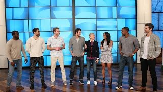 Ellen Helps Host a