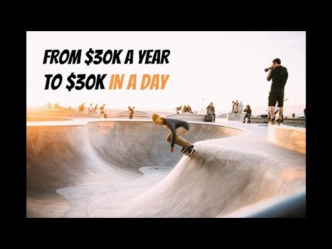 How I Went From Making $32k a Year to $32k in a Day
