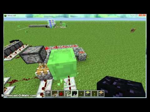 Minecraft 1.2.5 SELF-BUILDING bridge tutorial
