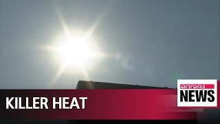 Heatwave in South Korea kills 2 people over four days: KCDC