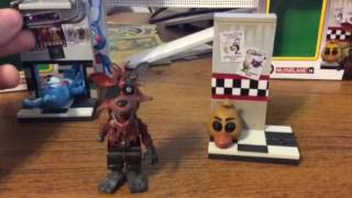 TRAVIS TOY REVIEWS: Toy Bonnie and Phantom Foxy set!