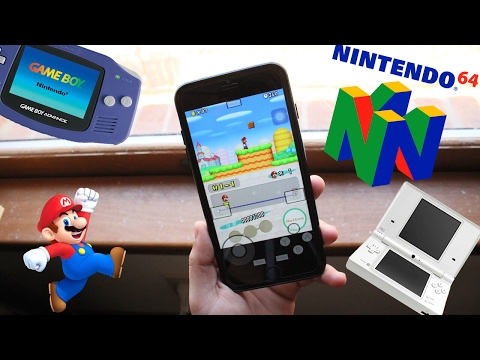 Play Nintendo DS/GBA/GBC/N64 games on your iPhone,iPad, iPod! (NO JAILBREAK!) iOS 9/ iOS 10
