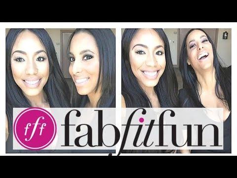 FabFitFun Winter 2017 Unboxing With My Best Friend! | Is It Legit?!