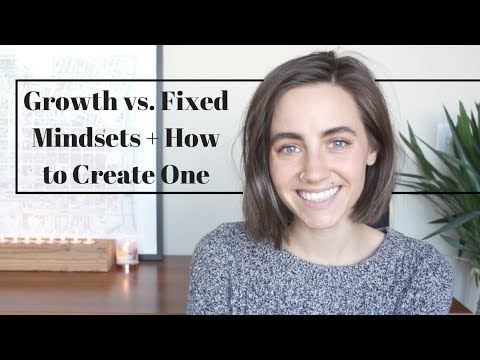Growth vs. Fixed Mindsets + How To Create One