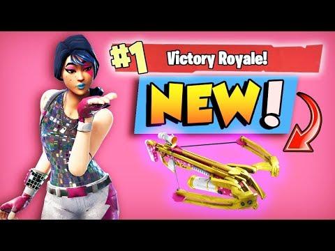 *NEW* CROSSBOW = GOOD? (Fortnite: Battle Royale)