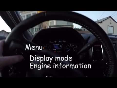 Resetting the 2015 Ford F-150 Intelligent Oil Life Monitor