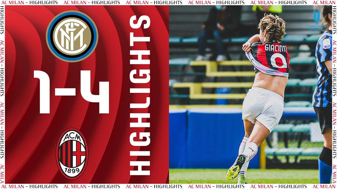 Highlights   Inter 1-4 AC Milan   Matchday 17 Women's Serie A 2020/21