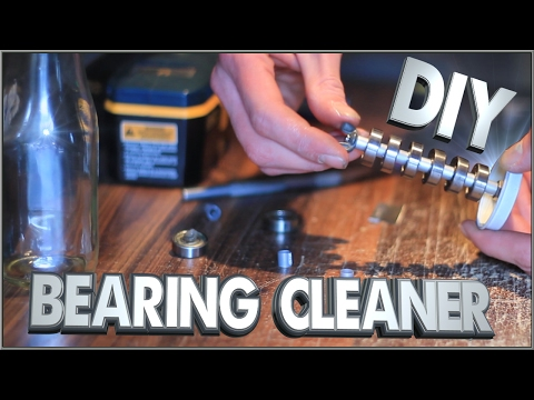 How To Make A Skateboard Bearing Cleaning Unit