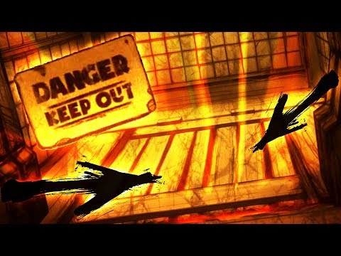 HACKING TO BENDY'S NEW SECRET TRAP DOOR!! (Bendy and The Ink Machine Chapter 4)