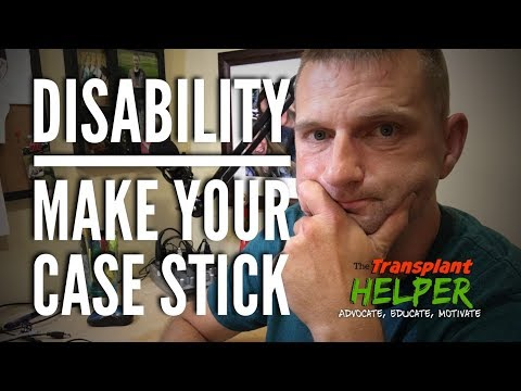 Disability: Making Your Case