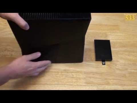 How To Replace Your Xbox 360 Hard Drive